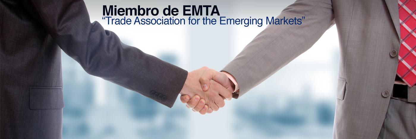 Miembro de Emerging Markets Trading Asociation